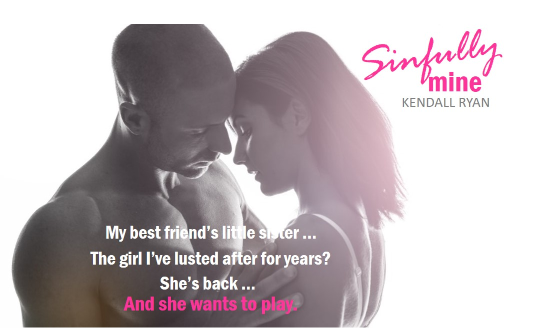 FB Party Graphic Sinfully Mine Kendall Ryan
