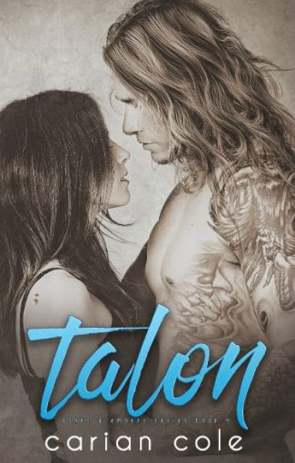 Cover Reveal & Giveaway: Talon (Ashes & Embers, #4) by Carian Cole