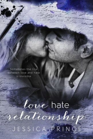 Cover Reveal: Love Hate Relationship (Colors #3) by Jessica Prince