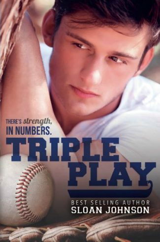 Cover Reveal & Giveaway: Triple Play (Homeruns #3) by Sloan Johnson