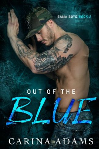 Cover Reveal: Out Of The Blue (Forever Red #2) by Carina Adams