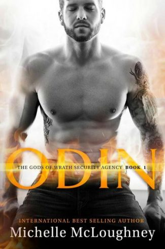 Cover Reveal: Odin (The Gods of Wrath Security Agency #1) by Michelle McLoughney