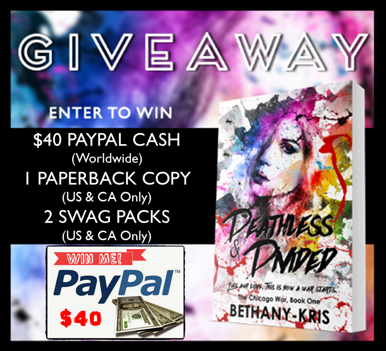 Deathless & Divided Tour Giveaway Graphic