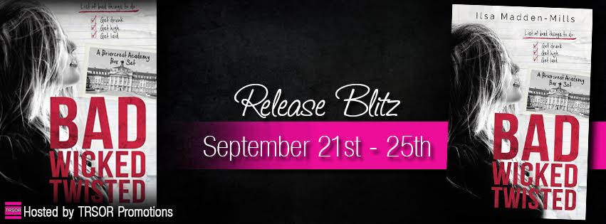 bad twisted release day graphic