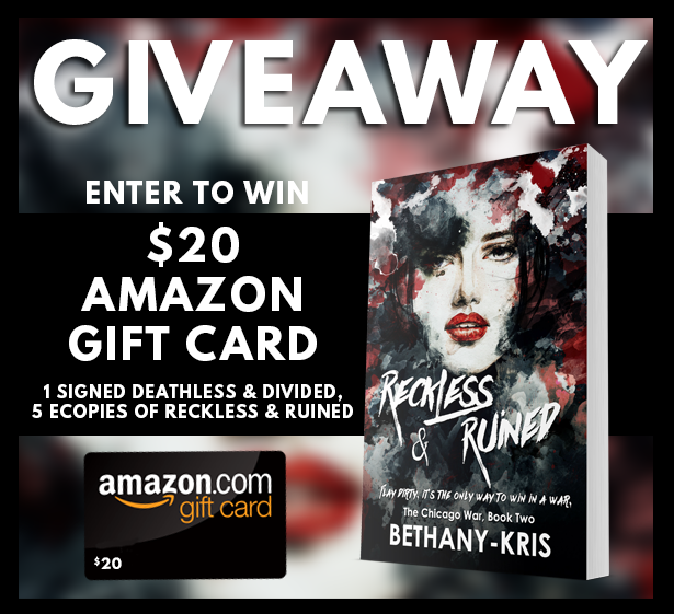 Reckless Ruined Reveal Giveaway Graphic