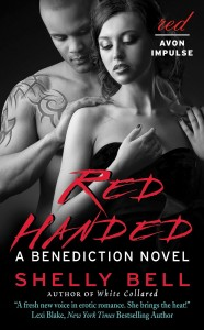 Red Handed Ebook Cover