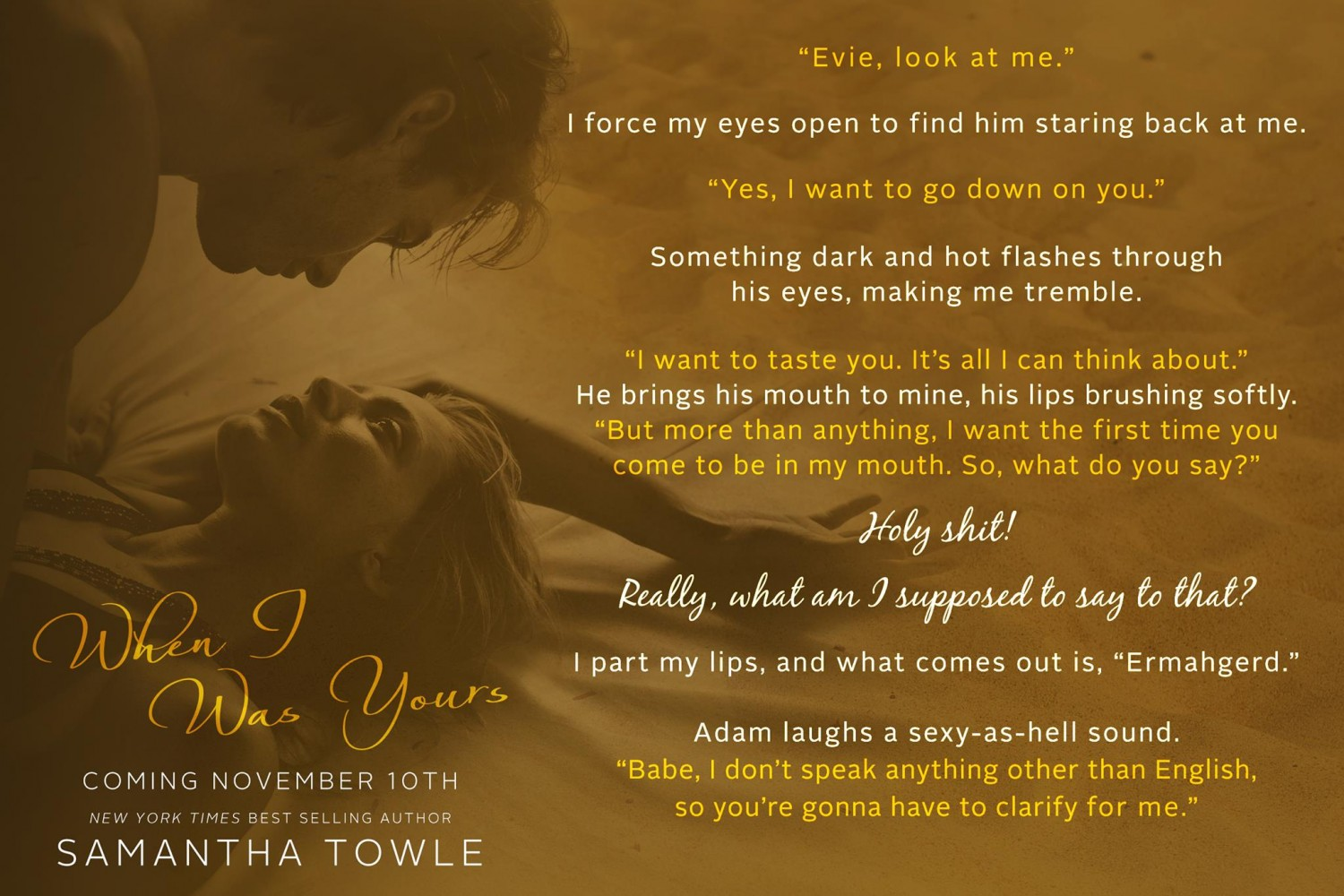 When I Was Yours Teaser Cover Reveal