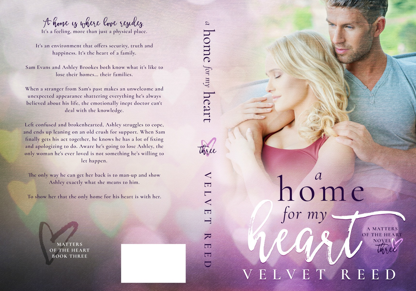A Home for my Heart Full Jacket
