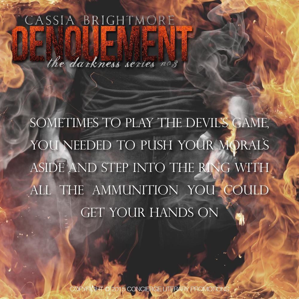 Denouement - the Devil's game