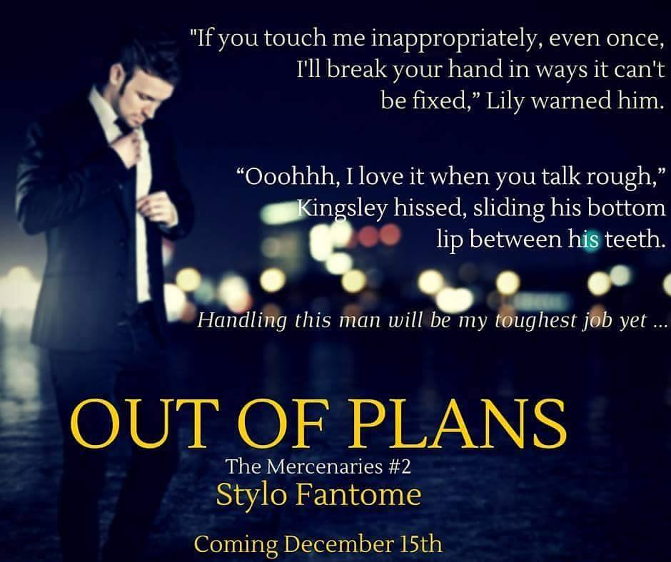 out of plans cover reveal teaser