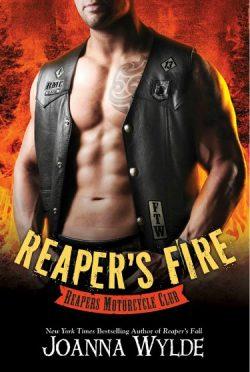 Cover Reveal: Reaper's Fire (Reapers MC #6) by Joanna Wylde