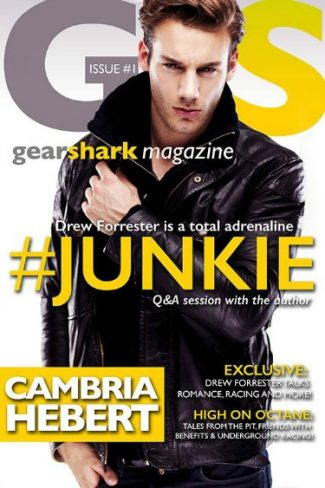 Release Day Blitz + Giveaway: #Junkie (GearShark #1) by Cambria Hebert