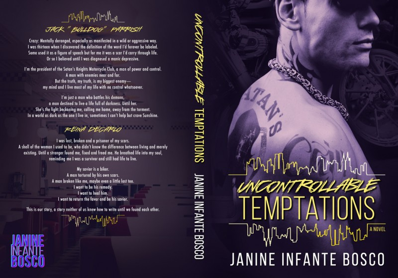 Uncontrollable Temptations Full Jacket Cover