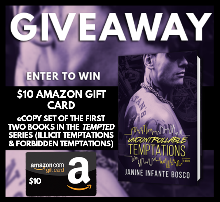Uncontrollable Temptations Reveal Giveaway Graphic