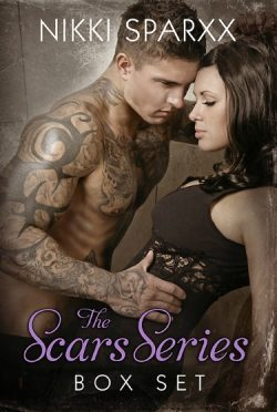 Cover Reveal: The Scars Series: Box Set by Nikki Sparxx