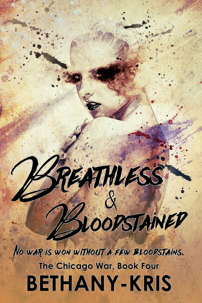 Breathless & Bloodstained Cover