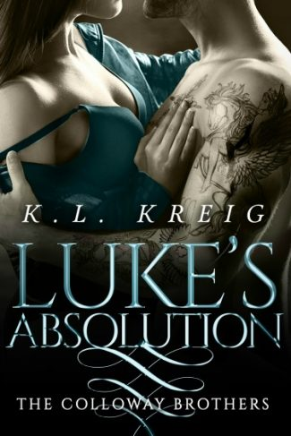 Release Day Blitz + Giveaway: Luke's Absolution (The Colloway Brothers #3) by KL Kreig