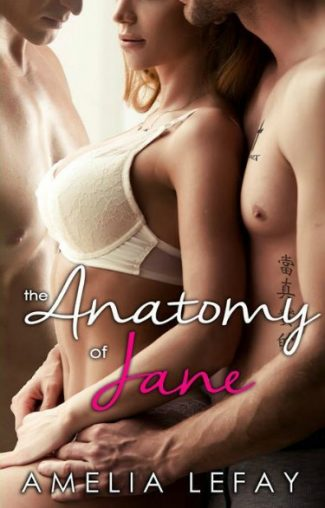 Cover Reveal: The Anatomy of Jane by Amelia LeFay