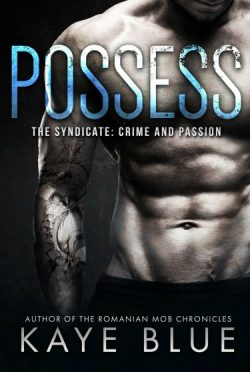 Chapter Reveal: Possess (The Syndicate: Crime and Passion #1) by Kaye Blue