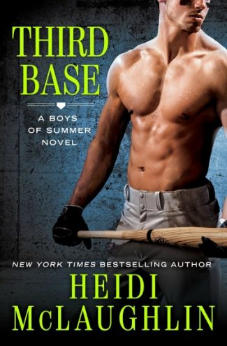 Cover Re-Reveal + Giveaway: Third Base (The Boys of Summer #1) by Heidi McLaughlin