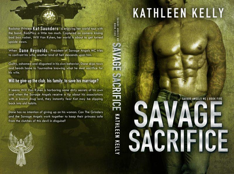 Savage Sacrifice Full Wrap