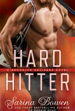 Cover Reveal: Hard Hitter (Brooklyn Bruisers #2) by Sarina Bowen