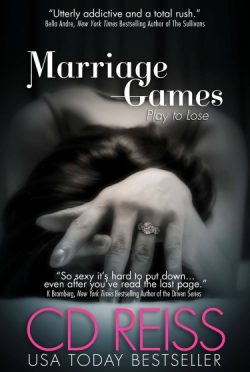 Cover Reveal: Marriage Games by CD Reiss