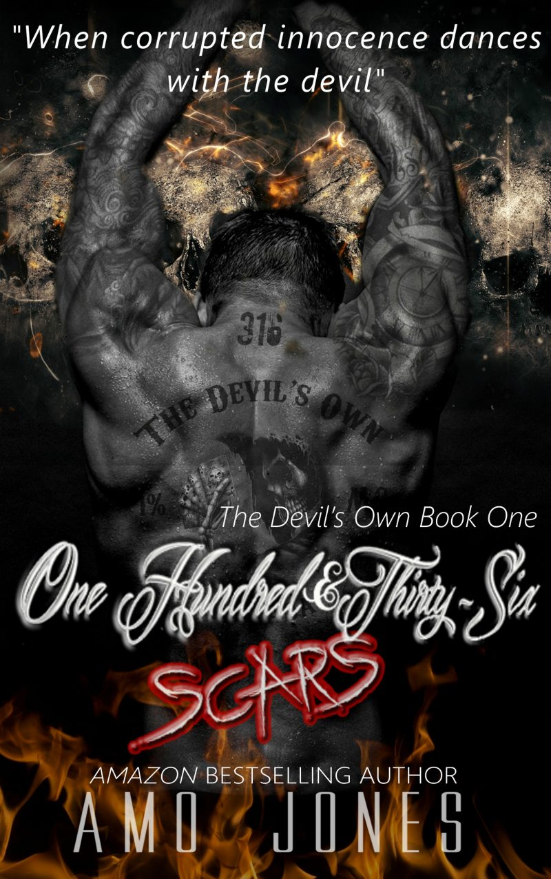 136 Scars Ebook Cover