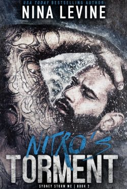 Cover Reveal + Giveaway: Nitro's Torment (Sydney Storm MC #2) by Nina Levine