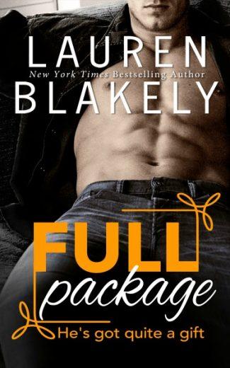 Cover Reveal: Full Package (The Men of Rom Com #5) by Lauren Blakely