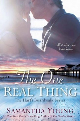 Release Day Blitz + Giveaway: The One Real Thing (Hart's Boardwalk #1) by Samantha Young