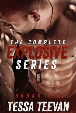 Cover Reveal: The Complete Explosive Series Box Set (Explosive #1-5) by Tessa Teevan