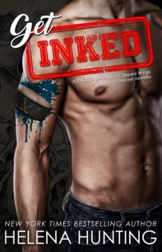 Release Day Blitz: Get Inked: A Pucked and Clipped Wings Crossover Novella by Helena Hunting
