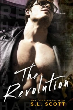 Cover Reveal: The Revolution (Hard to Resist #4) by SL Scott