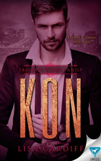 Cover Reveal: Kon (Trassato Crime Family #2) by Lisa Cardiff