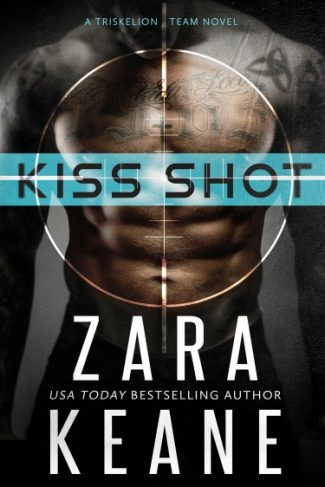 Cover Reveal + Giveaway: Kiss Shot (Dublin Mafia: Triskelion Team #2) by Zara Keane