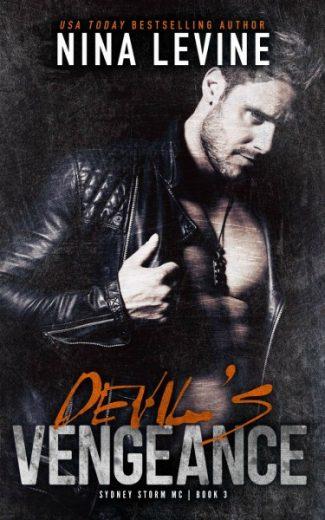 Release Day Blitz & Giveaway: Devil's Vengeance (Sydney Storm MC #3) by Nina Levine