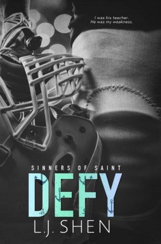 Cover Reveal: Defy (Sinners of Saint #0.5) by LJ Shen