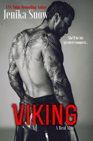 Cover Reveal: Viking (A Real Man #9) by Jenika Snow