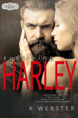 Cover Reveal: Surviving Harley (Sex, Vows & Babies – Kindle Worlds Novella) by K Webster