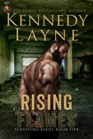 Cover Reveal: Rising Flames (Surviving Ashes #5) by Kennedy Layne