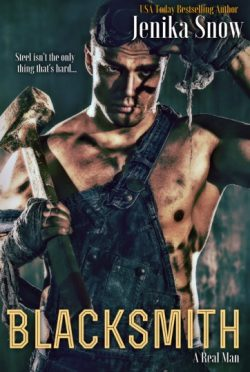 Cover Reveal: Blacksmith (A Real Man #10) by Jenika Snow
