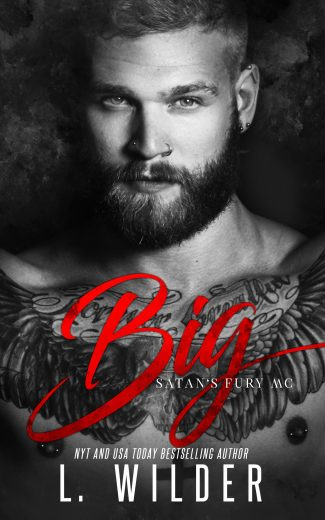 Cover Reveal & Giveaway: Big (Satan's Fury MC #6) by L Wilder