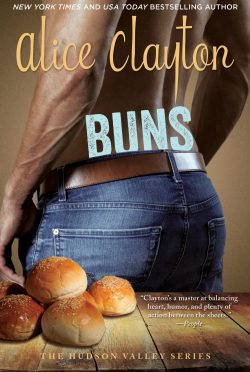 Cover Reveal: Buns (Hudson Valley #3) by Alice Clayton