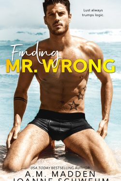 Release Day Blitz & Giveaway: Finding Mr Wrong by AM Madden & Joanne Schwehm