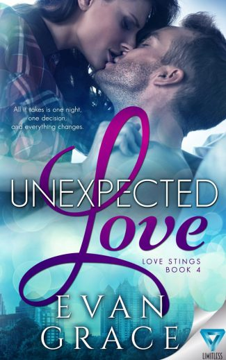 Release Day Blitz & Giveaway: Unexpected Love (Love Stings #4) by Evan Grace