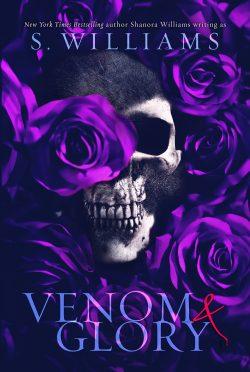 Cover Reveal: Venom & Glory (Venom #3) by S Williams