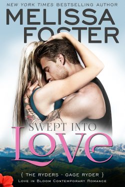 Release Day Blitz: Swept Into Love (The Ryders #5) by Melissa Foster