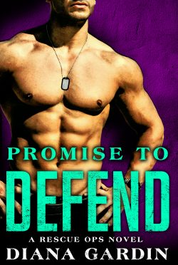 Cover Reveal & Giveaway: Promise To Defend (Rescue Ops #2) by Diana Gardin