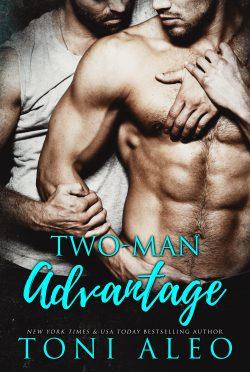 Cover Reveal: Two Man Advantage by Toni Aleo